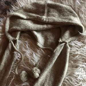 Hooded scarf 💕FREE with 30.00 purchase💕